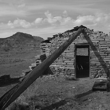 Cabin in Paria Canyon by harmoniccontent