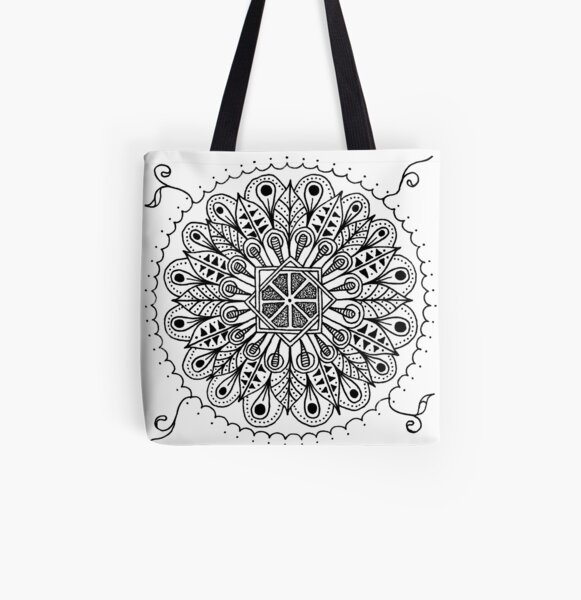 Africa All Over Print Tote Bag