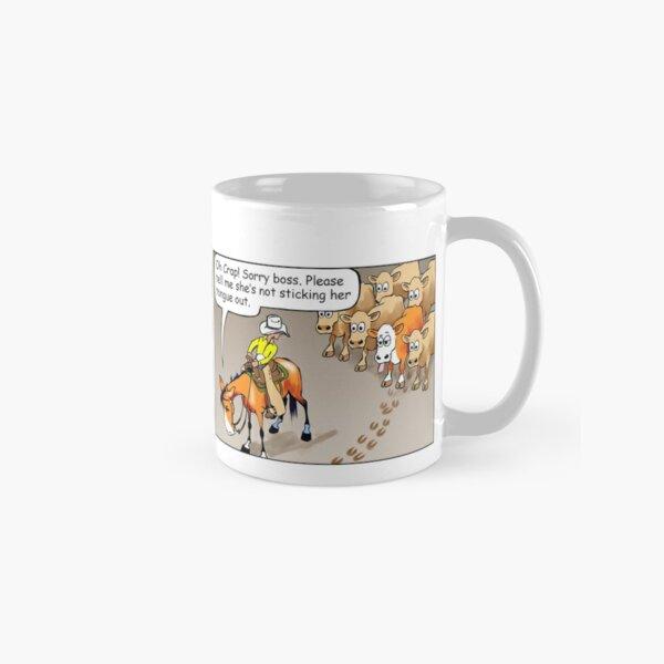 "Fergus the Horse: ""Sneaky Cow"" Comic Strip Classic Mug"