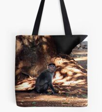Indian Monkey Tote Bag