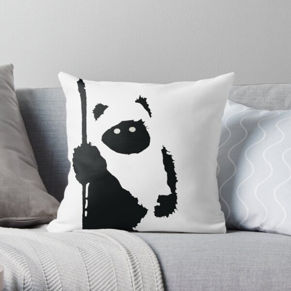 Ewok Silhouette Throw Pillow