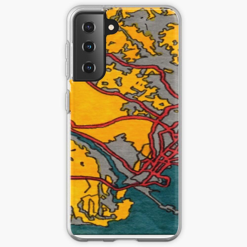 Panama City, Panama Case & Skin for Samsung Galaxy
