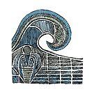 Leviathan Sketch - Farbe von Hinterlund
