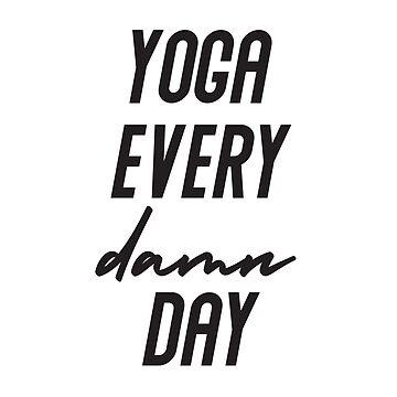 Yoga jeden Tag Geschenk von tw07