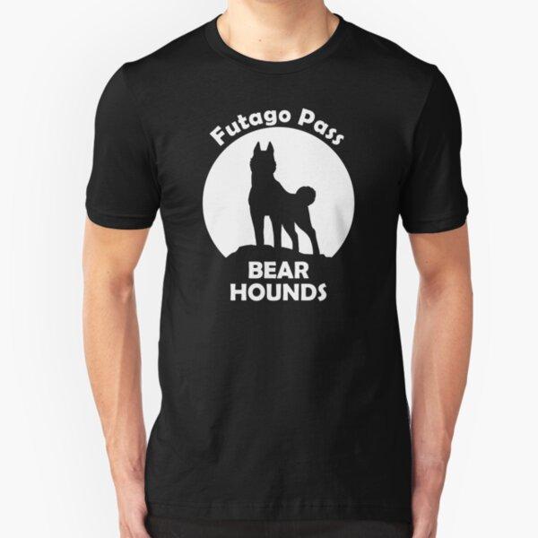 Futago Pass Bear Hounds Slim Fit T-Shirt