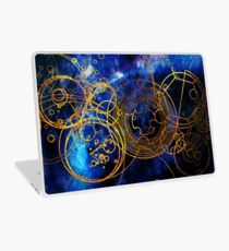 Time Lord Writing (blue) Laptop Skin