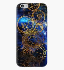 Time Lord Writing (blue) iPhone Case