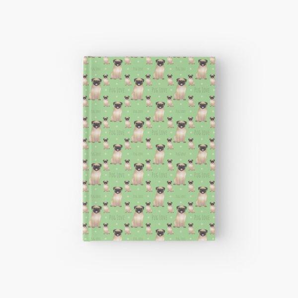 Pug Love Hardcover Journal