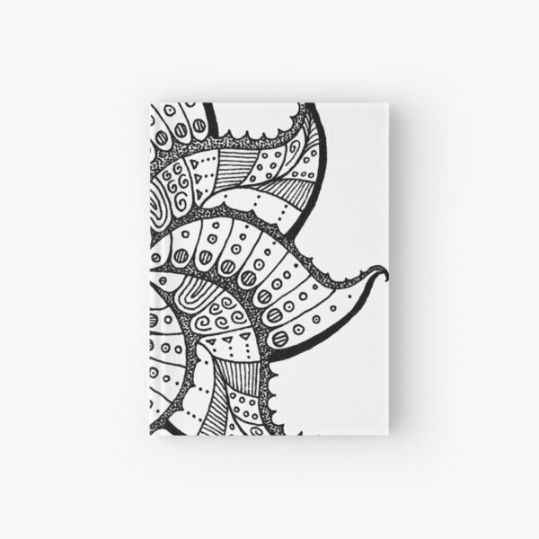 Butterfly Leaf Hardcover Journal