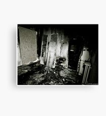 Death to abandoned #2 Canvas Print