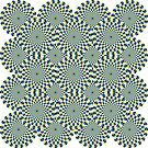 #Optical #Illusion Pattern Abstract Decoration Art Illustration Design Flower  by znamenski