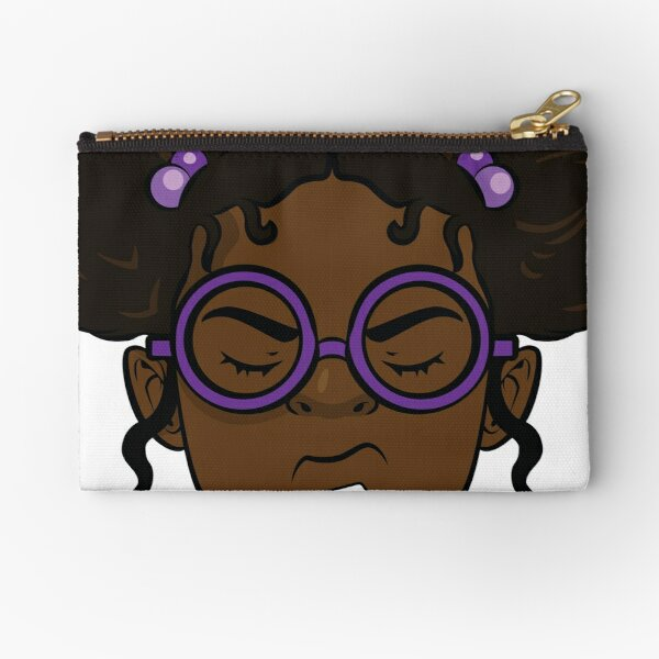 Lunella....Girl. Zipper Pouch