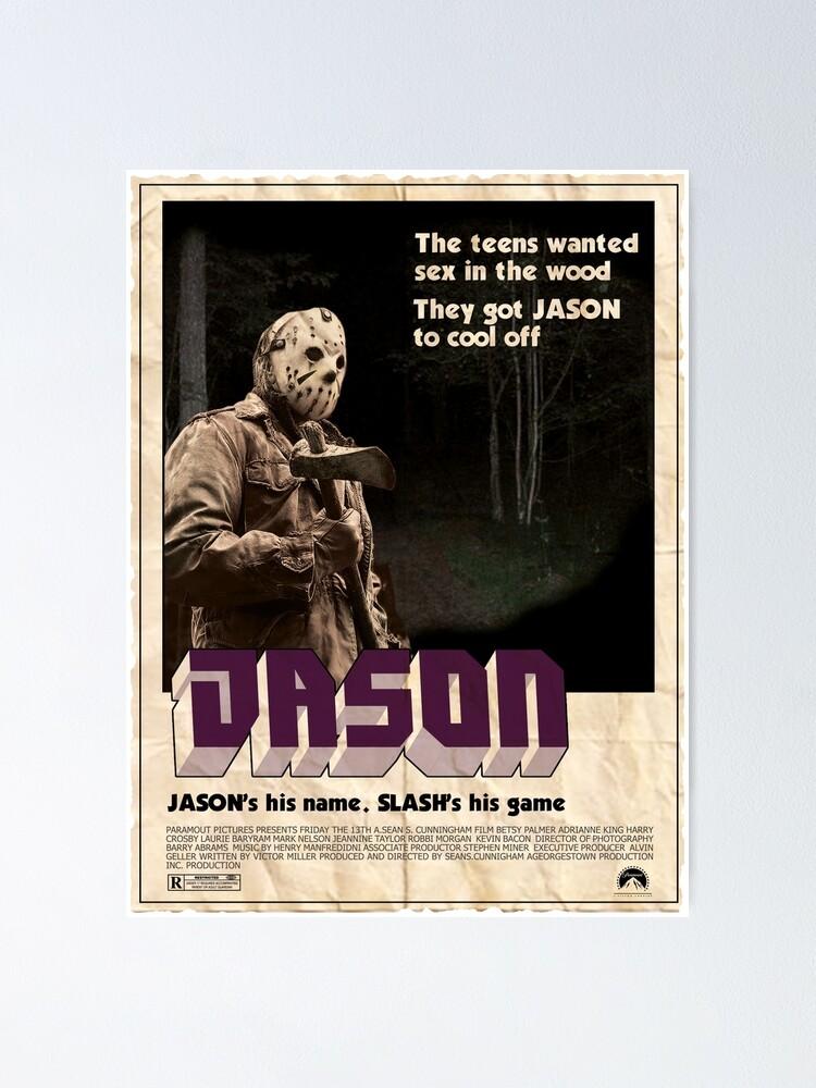 Alternate view of Jason Shaft Poster