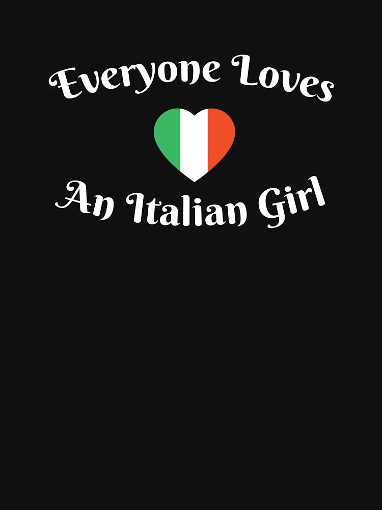 Everyone Loves An Italian Girl by DOODL