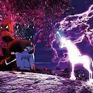 Das letzte Einhorn - Der Baum und Schmendrick der Zauberer von cglightNing