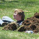 planting a grandson by Jeannie Matthews