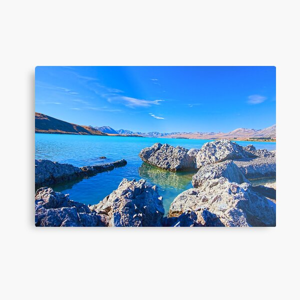 Lake Tekapo Splendor Metal Print