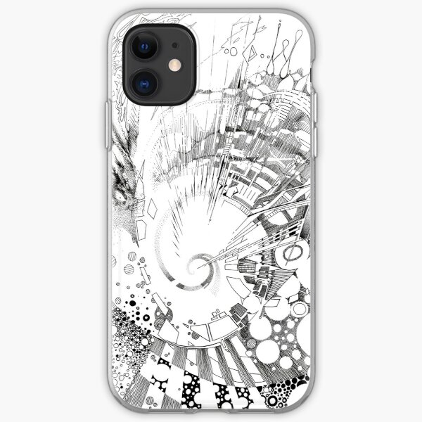 The Tender Sounds of Nature - Illustration iPhone Soft Case