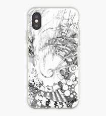 The Tender Sounds of Nature - Illustration iPhone Case