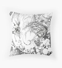 The Tender Sounds of Nature - Illustration Throw Pillow