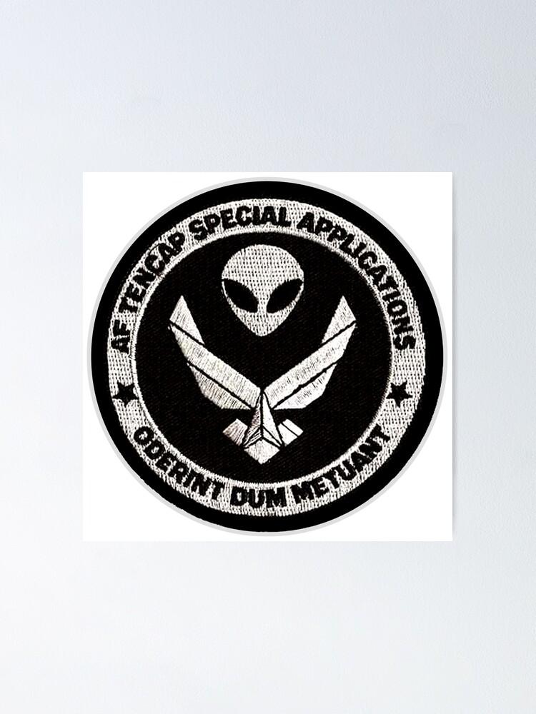 Tactical Exploitation of National Capabilities Alien USAF TENCAP STICKER ~ U.S