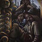 Baldur and Nanna by jwedrewolf