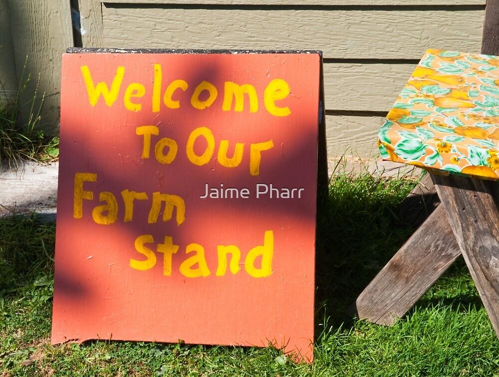 Sign by Jaime Pharr