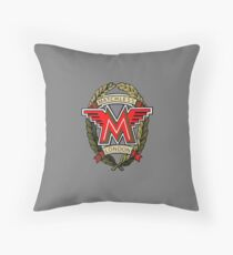 Matchless Motorcycles London England Floor Pillow
