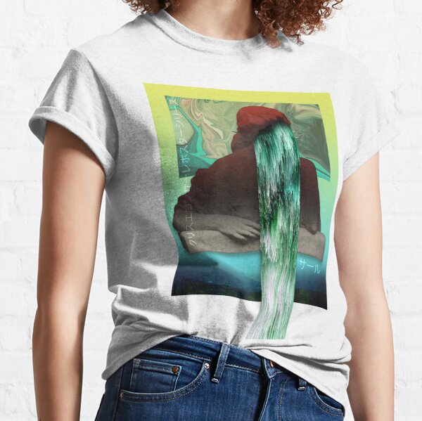 The Weeping Goddess Venus Collage Classic T-Shirt