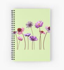 Fairy wildflowers Spiral Notebook