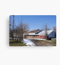 The Fieldhouse Canvas Print