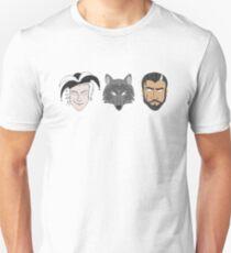 Camiseta unisex Fitz, The Fool y Nighteyes