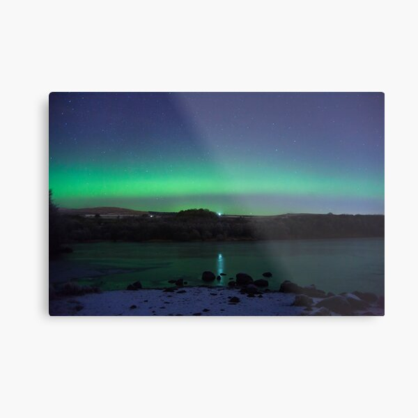 Banton Loch Aurora  Metal Print