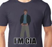 "DARK KNIGHT RISES ""I'M CIA""  Unisex T-Shirt"