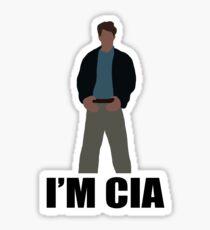 "DARK KNIGHT RISES ""I'M CIA""  Sticker"