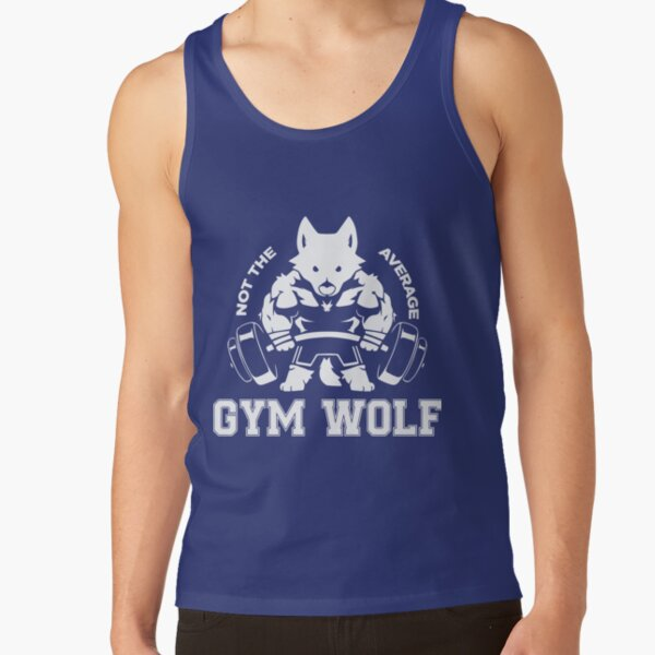Not the average GYM WOLF Tank Top