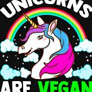 Unicorns Are Vegan by frittata