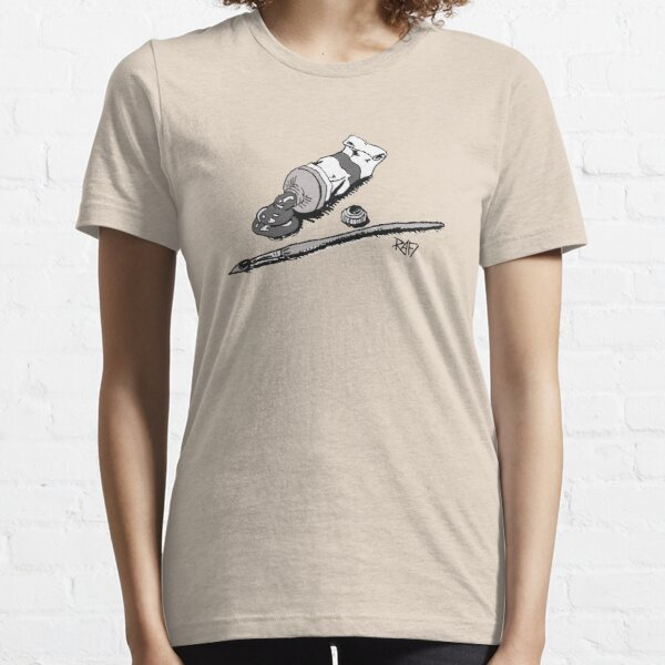 Paint And Paint Brush Design By Rafi Perez Essential T-Shirt