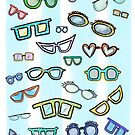 Funny eye glasses by Annette Kraus