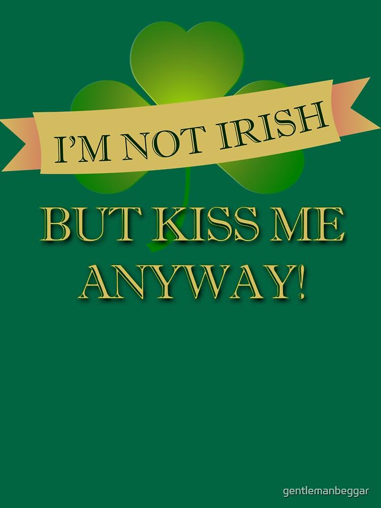 Kiss me! I'm 1/1024th Leprechaun! by gentlemanbeggar