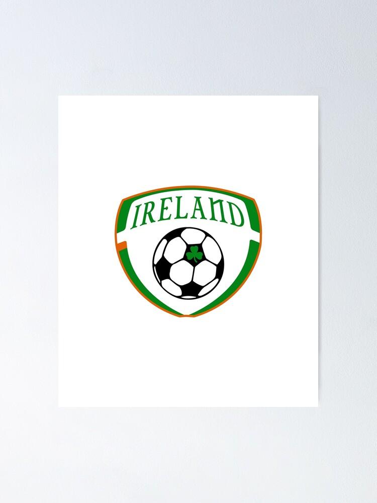 Vista alternativa de Póster Lucky Ireland Soccer