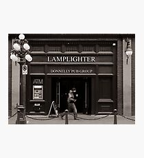 LAMPLIGHTER Photographic Print