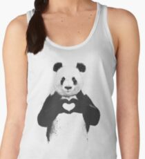 All you need is love Women's Tank Top
