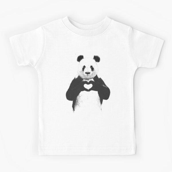 Tout ce dont tu as besoin c'est de l'amour T-shirt enfant