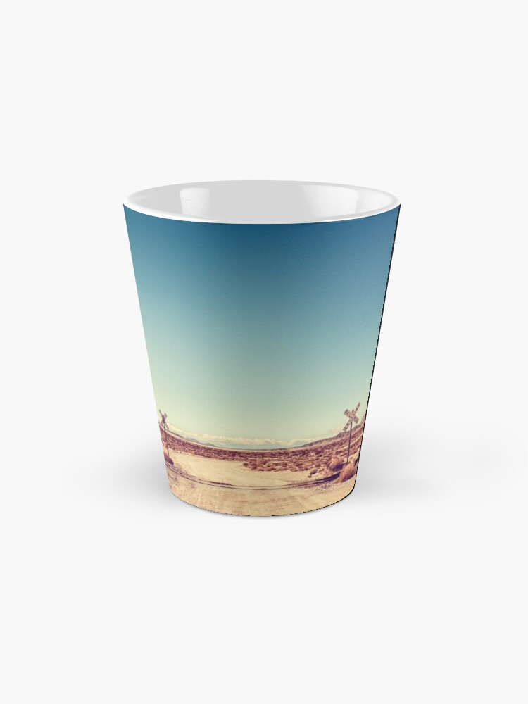Alternate view of Railroad Crossing California Desert Mug