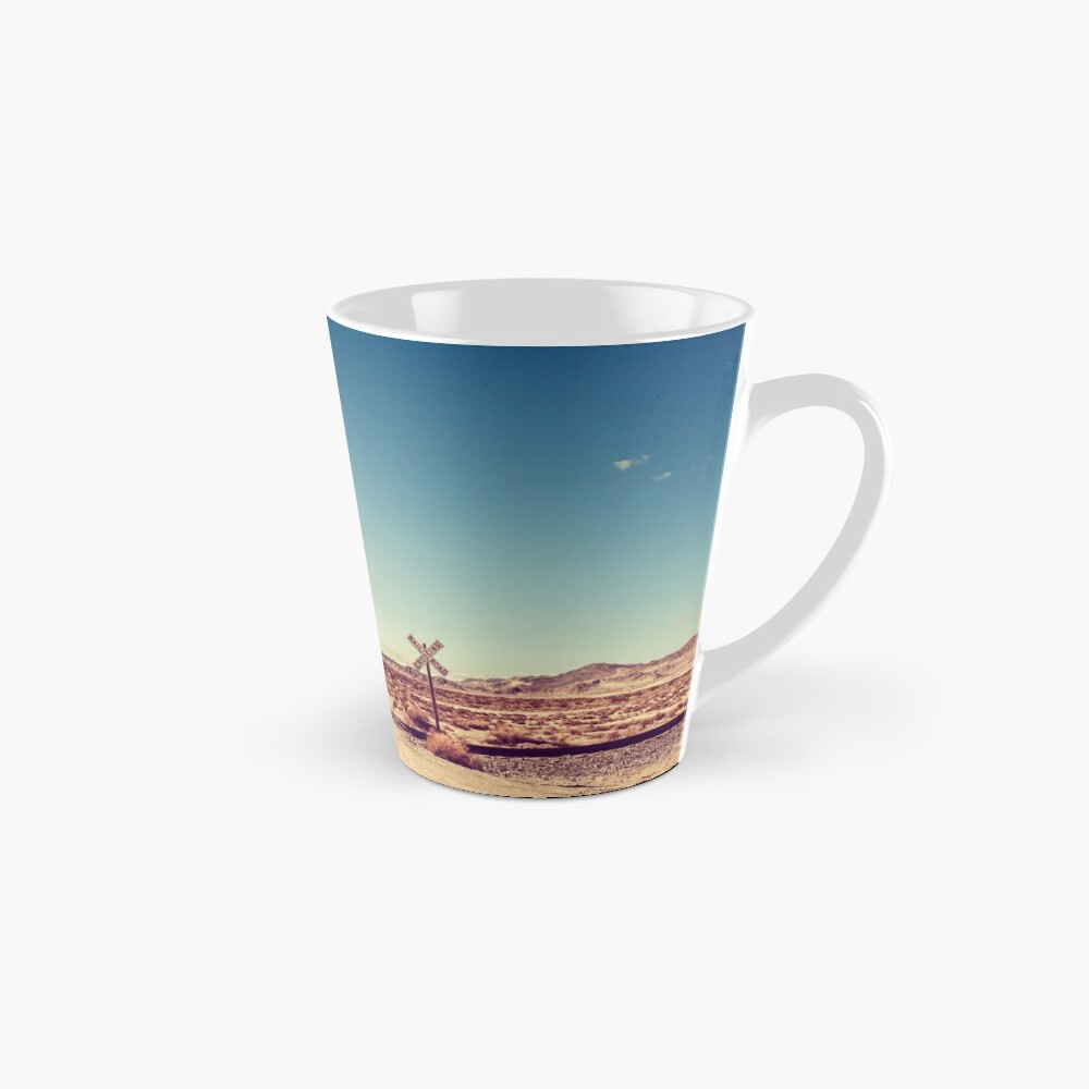 Railroad Crossing California Desert Mug