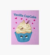 Vanille Cupcake im Kawaii Style Galeriedruck