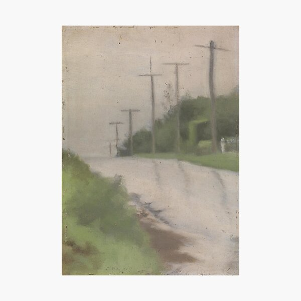Beach Road after Rain - Clarice Beckett - 1927 Photographic Print