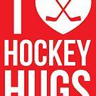 I [Heart] Hockey Hugs by russianmachine