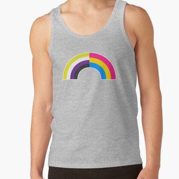 Non-Binary Pan Rainbow Tank Top